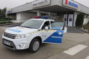 Újabb autó a rendőrségnek
