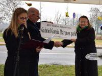 Gabriel García Márquez park névadó ünnepség